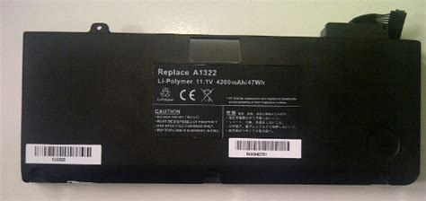 Baterai Original Macbook Pro 13 A1278 A1322 020 6547 A baterai apple macbook pro 13 a1322 black charger laptop ku