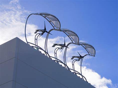 wind architecture modular architectural wind microturbines take off