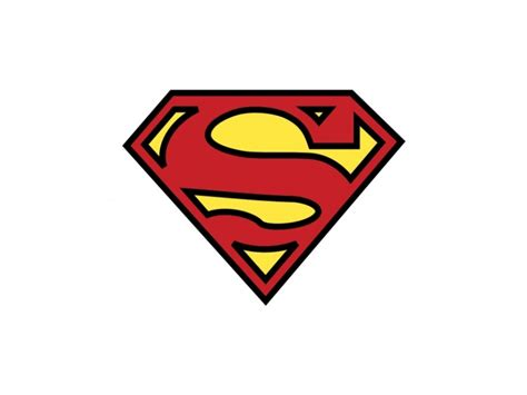 logo clipart best superman logo clipart 18583 clipartion