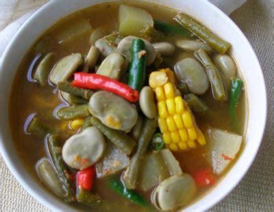 resep sayur sayur asam toramame