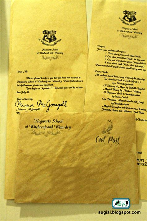 Acceptance Letter To Hogwarts Envelope Diy Hogwarts Acceptance Letter And Envelope By Sugiai On Deviantart