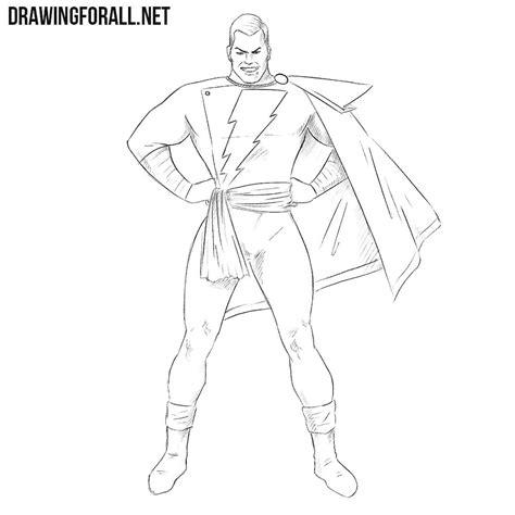 draw shazam drawingforallnet