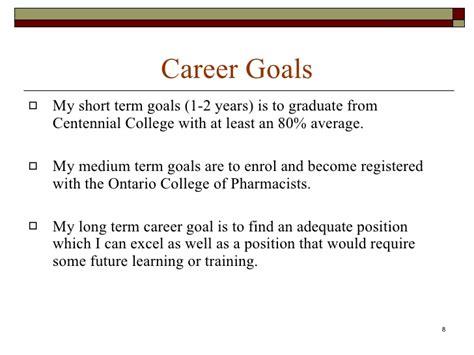 career aspirations essay career development portfolio career