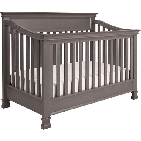 Solid Wood Convertible Crib Solid Wood Molding And Graceful Lines Adorn The Foothill 4 In 1 Convertible Crib Convertible