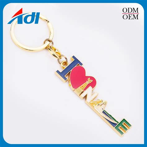 design your own l design your own custom logo metal letter l keychain no