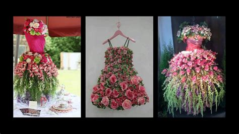 floral decoration floral tree dress inspiration spring mannequin tree