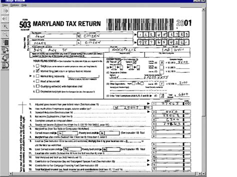 maryland tax forms images