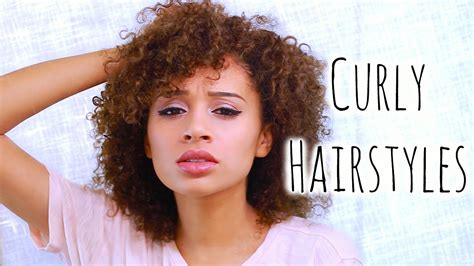 different hairstyles for curly hair for school 5 easy curly hairstyles for school