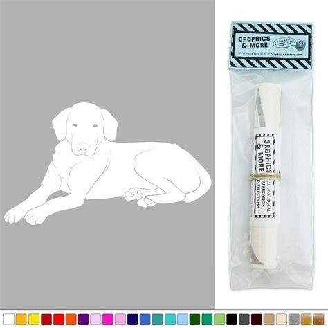 dog wall art dog labrador retriever pet vinyl sticker decal wall art d 233 cor