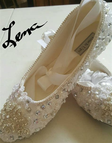 bridal ballet slippers bridal wedding ballet slippers ivory white satin flats shoe
