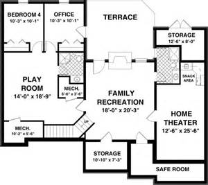 Home Plans With Basements by Free House Plans With Basements Smalltowndjs Com