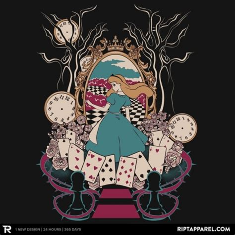 geek gear alice in wonderland alice shirt