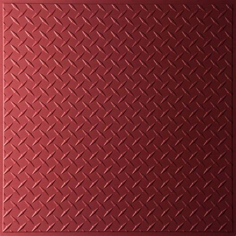 plate ceiling tiles ceilume plate merlot 2 ft x 2 ft lay in or glue