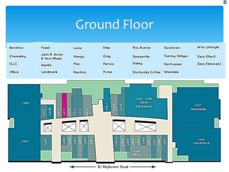 Mall Bangalore Floor Plan by Mall Bangalore