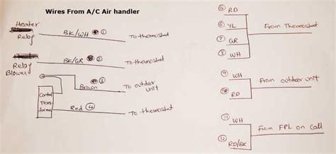 rheem air handler wiring schematic wiring diagram with