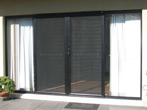 Retractable Screen Door For Sliding Glass Door Concrete Stair Treads Ideas Door Stair Design