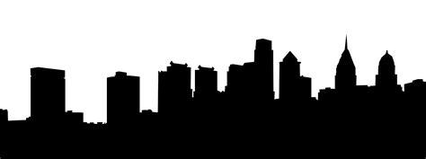 Skyline Silhouette Philadelphia Skyline Silhouette Clipart Best