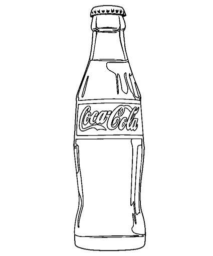 imagenes para pintar vidrio botella coca cola dibujos pinterest botella coca