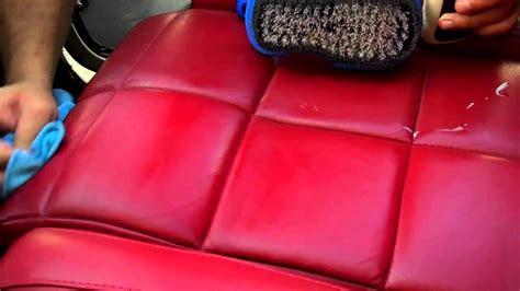 pulitura interni auto pulizia interni auto in pelle e trattamento protettivo