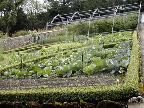 Italian Kitchen Garden by Kitchen Garden Yewbarrow House And Gardens