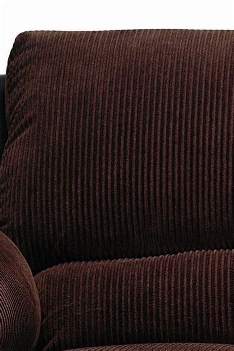 corduroy sofa and loveseat monika chocolate corduroy 2 sofa loveseat set by