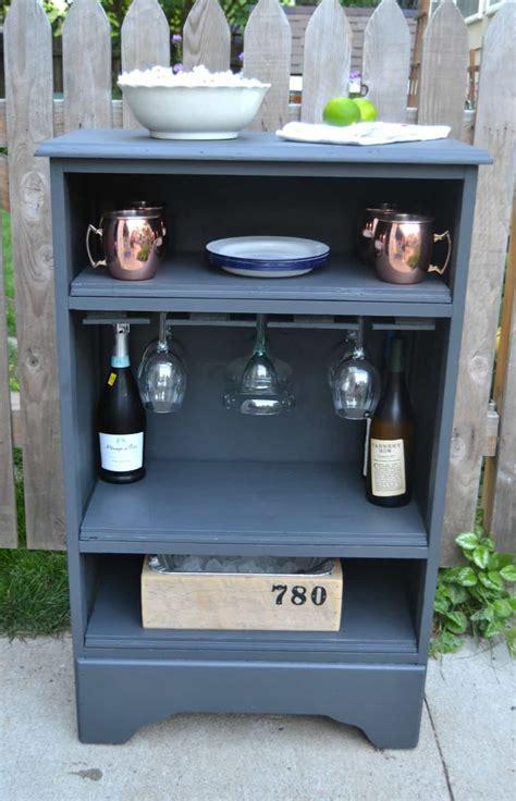 dresser turned bar cabinet homeright