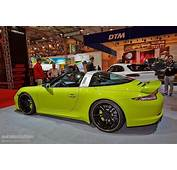 Techart Porsche 911 Targa Makes Essen 2014 A Green Show