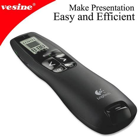 Wireless Laser Pointer Presenter Presentasi Remote Limited wireless presenter r400 with laser pointer 2 4ghz powerpoint presentation presenter remote