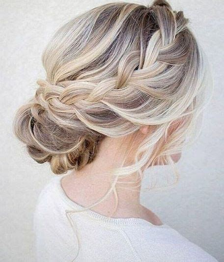 Wedding Hairstyles For Shoulder Length Layered Hair by Wedding Updos Shoulder Length Hair Wedding Ideas 2018