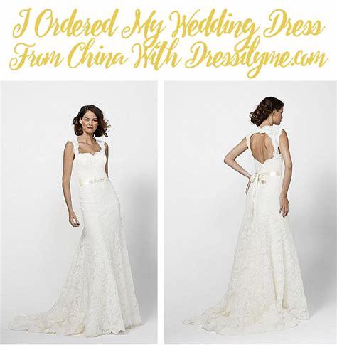 Wedding Review i ordered my wedding dress dressilyme wedding