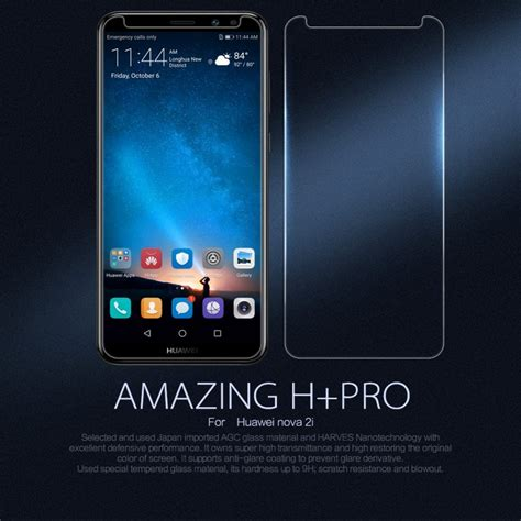 Lp Hd Tempered Glass Screen Protector Huawei 2i Transparan huawei mate 10 lite panssarilasi nillkin amazing h pro