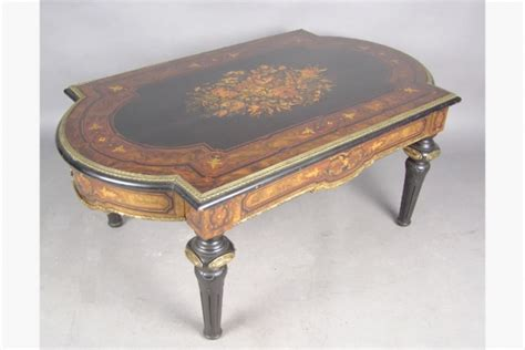 american victorian coffee table possibly roux