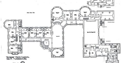 biltmore estate floor plans biltmore house 3rd floor floorplan biltmore estate 3rd