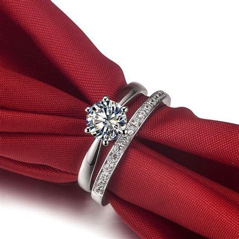 wholesale wedding ring set synthetic jewelry