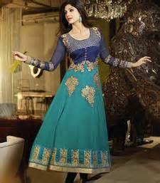 buy green georgette dress material online
