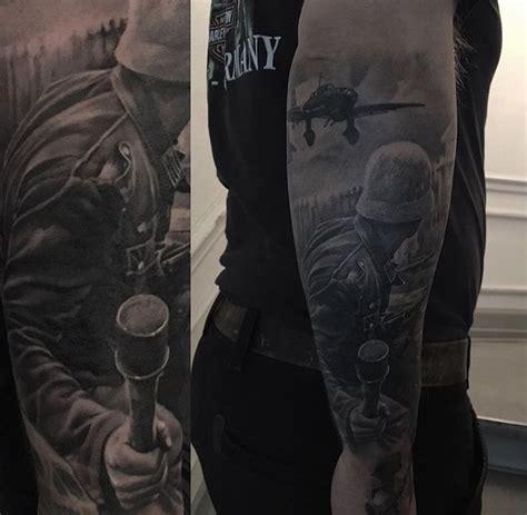 ww2 tattoos soldier ww2 war tattoos and