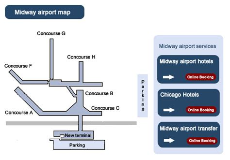 chicago midway map image gallery mdw map