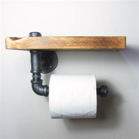 How To Make A Pipe Out Of Toilet Paper Roll - industrial iron pipe toilet roll holder groovyroost