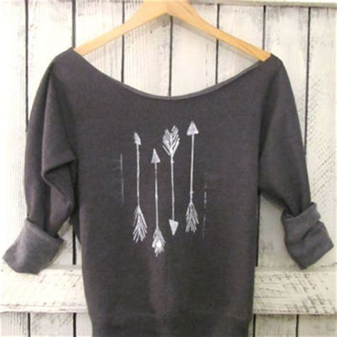 Sweater Arrow 3 free shipping arrow shoulder from pebbyforevee