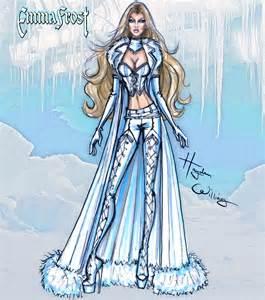 hayden williams fashion illustrations marvel divas by