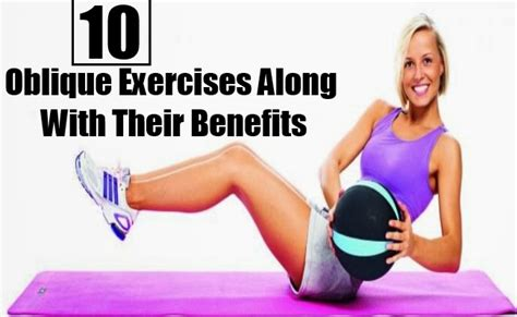 10 oblique exercises along with their benefits