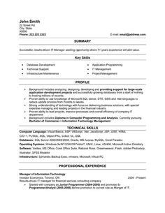 a professional resume template for an instrumentation