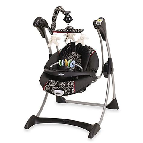graco baby swing not swinging graco 174 silhouette infant swing edgemont bed bath beyond