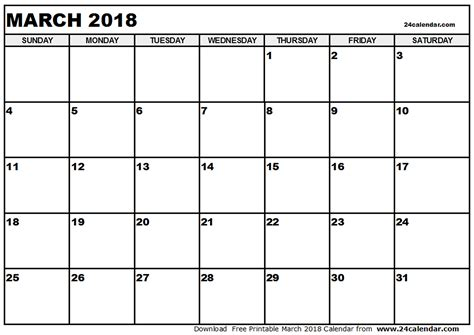 Qatar Calend 2018 March 2018 Calendar With Holidays Calendar Printable Free