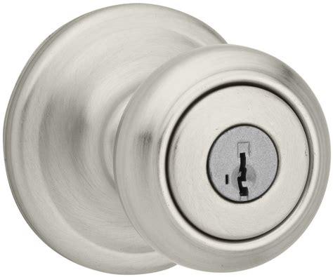 Smart Key Door Knob by Kwikset 740cn 3sbb Polished Brass Cameron Keyed Entry Door