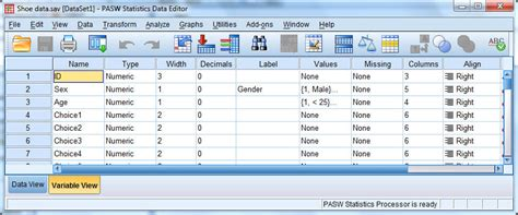 format excel for spss converting an spss file to excel