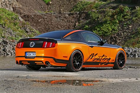 Name F R Auto by Ford Mustang Gt With A Twist Of German Tuning Carguideblog