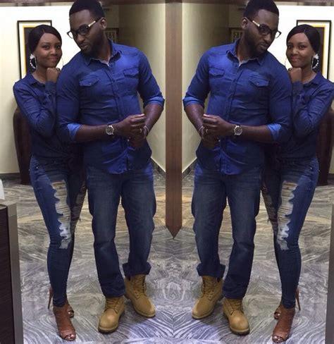 Nira Dress Wheat osas gbenro ajibade step out in matching denim