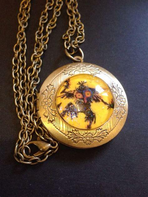 legend  zelda majoras mask necklace skull kid
