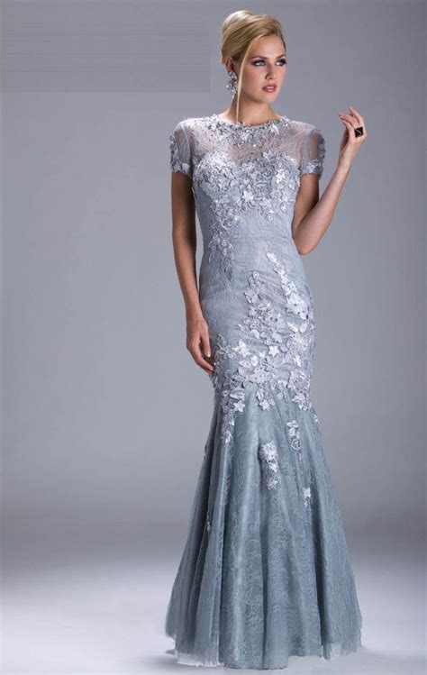 beaded silver dress 2015 silver evening dresses sleeves beaded